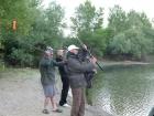 Horgász súly dobálás