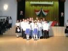 Énekeltek az iskolások.