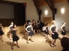 Bõcsi tánccsoport samba.