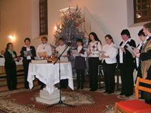 Adventi koncert Bőcsön.