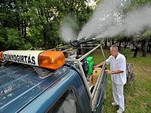 Szúnyoggyérítés
